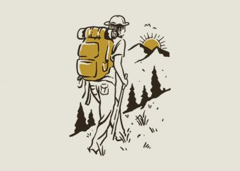 Hike Addiction buy t shirt design