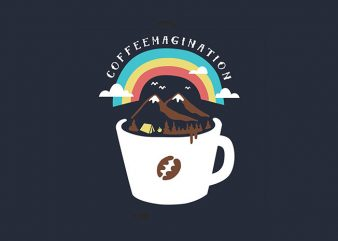 Coffeemagination buy t shirt design