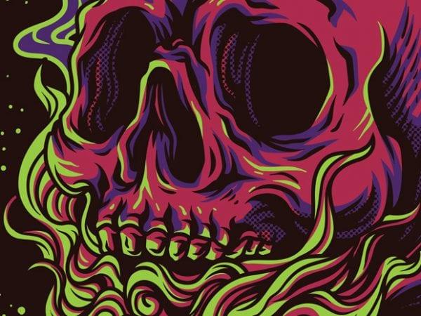 Skull Kids T-Shirt Design