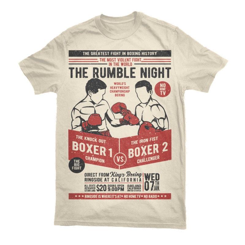 Classic Boxing Vector t-shirt design buy t shirt design