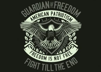 Guardian Of Freedom buy t shirt design