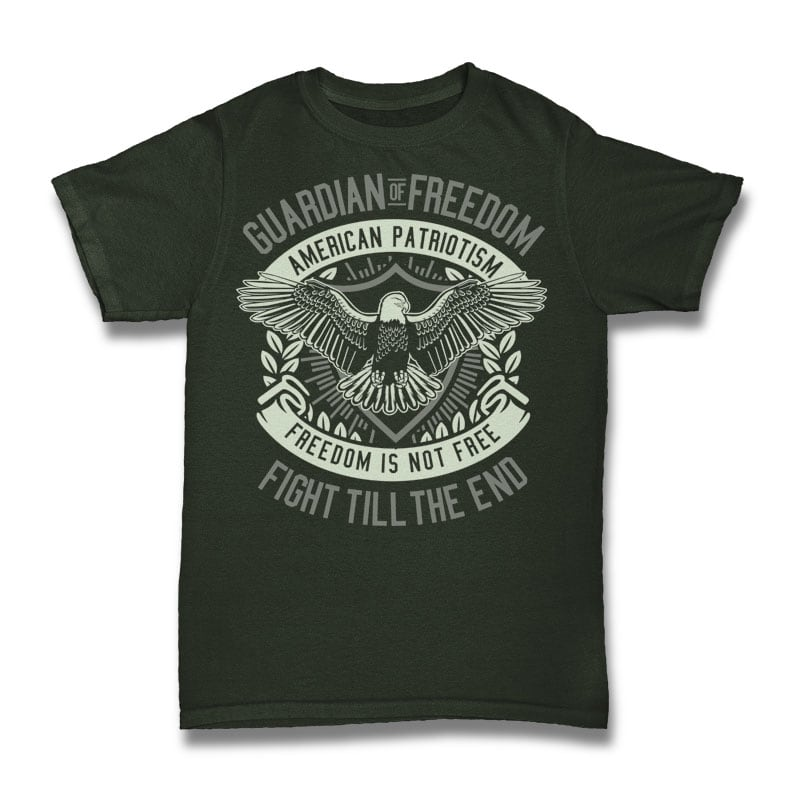 Guardian Of Freedom buy t shirt design