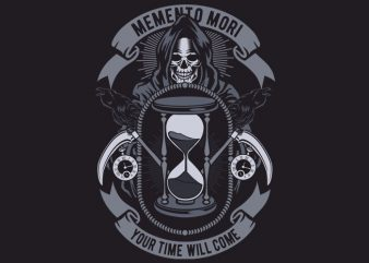 Memento Mori buy t shirt design