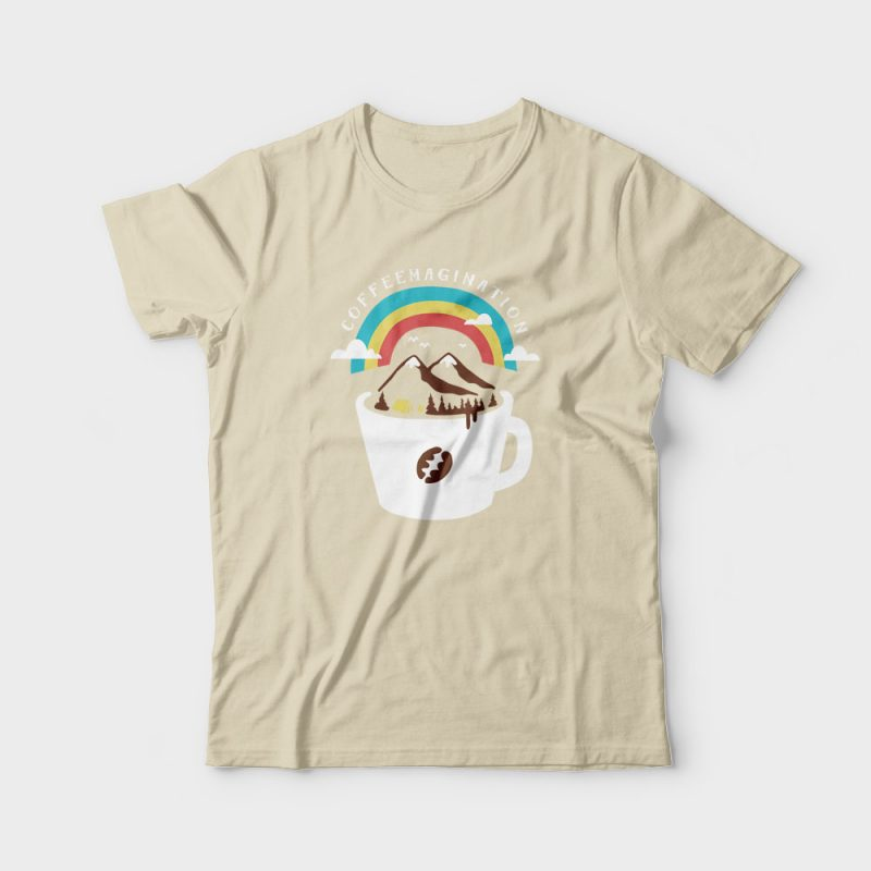 Coffeemagination buy t shirt design