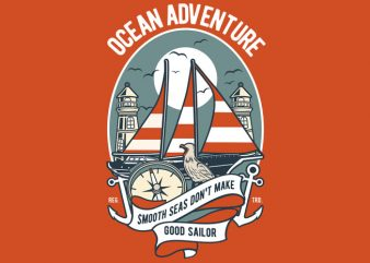 Ocean Adventure buy t shirt design