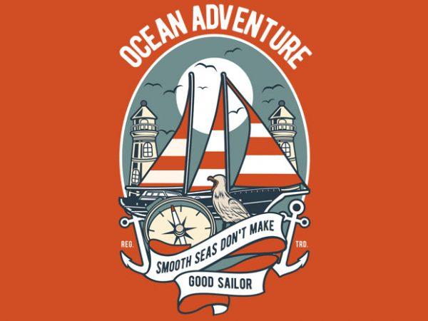 Ocean Adventure buy t shirt design