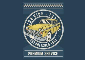 Taxi buy t shirt design