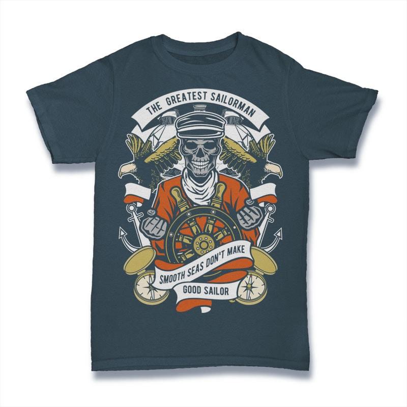 The Greatest Sailorman buy t shirt design