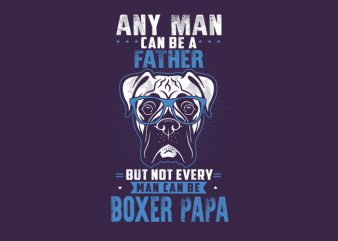 any man can be a father Vector t-shirt buy t shirt design