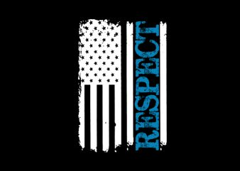 RESPECT Vector t-shirt design t shirt template