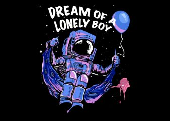 Lunar Astronaut T Shirt Design buy t shirt design