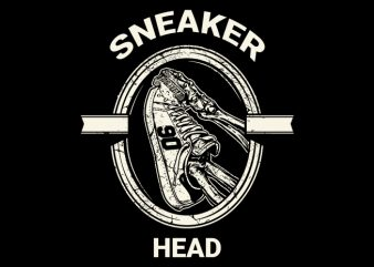 Sneaker Head Tshirt buy t shirt design