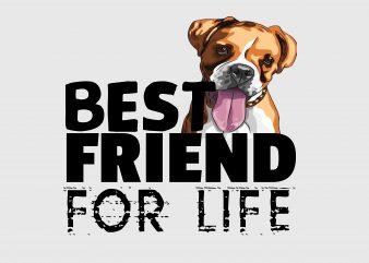 Best Friend Fo Life t shirt template