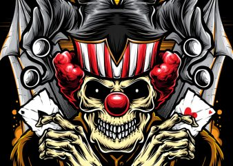 Gambler Clown buy t shirt design