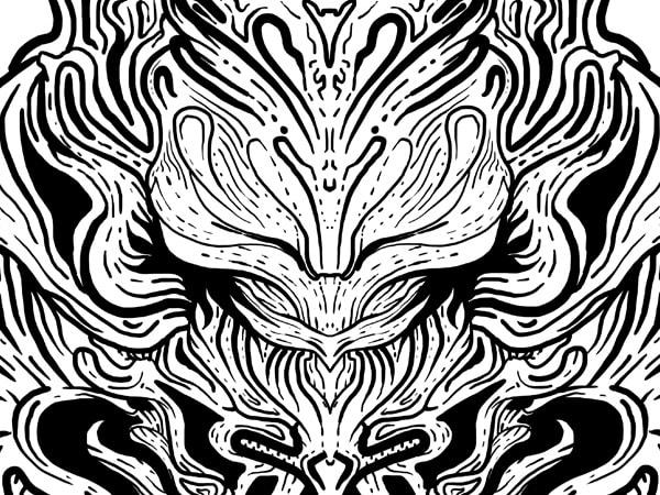 Luppa t shirt vector graphic