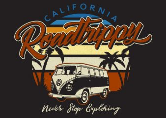 Roadtrippy buy t shirt design
