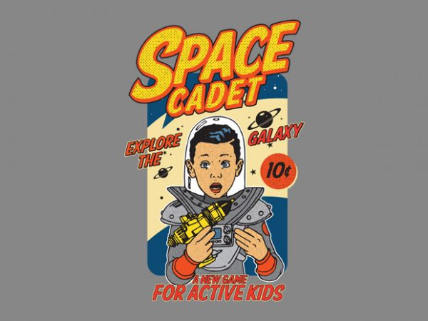 space cadet buy t shirt design
