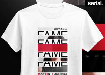 Fame Streetwear T-Shirt Design buy t shirt design