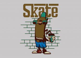 Skateboarding buy t shirt design