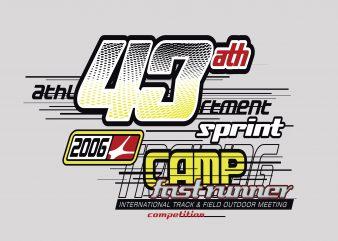 43 ath Sprint