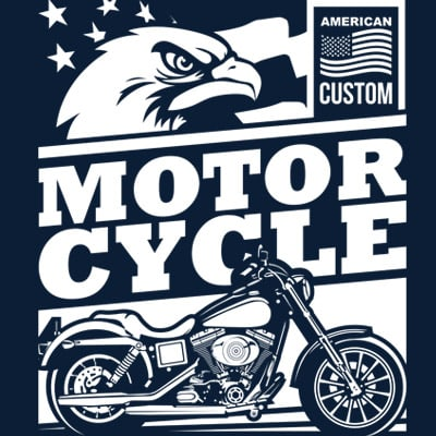 AMERICAN CUSTOM t shirt vector