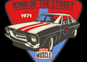 KING OF THE STREET buy t shirt design