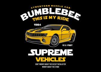 Bumblebee t shirt template