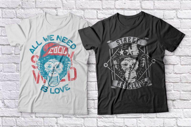 T-shirt Bundle 2. Vector T-Shirt and Posters Designs buy t shirt design