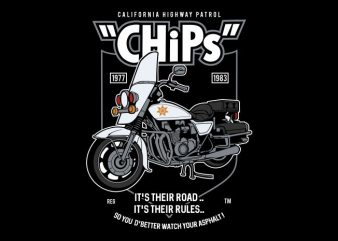 Chips buy t shirt design