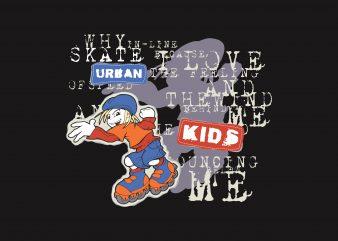 Urban Kids buy t shirt design