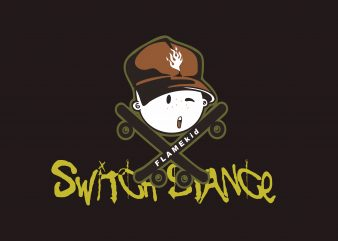 Switch Stance t shirt template
