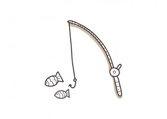 Fishing-rod fisher fish camping outdoor vector t shirt printing design buy t shirt design