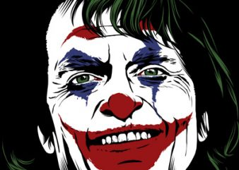 The Joker t shirt designs for sale