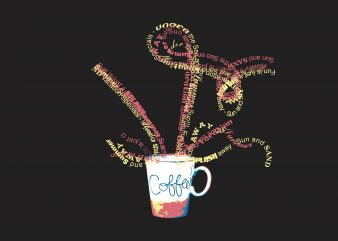 Coffe Glass buy t shirt design