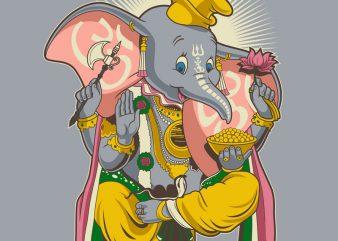 Little Ganesh buy t shirt design