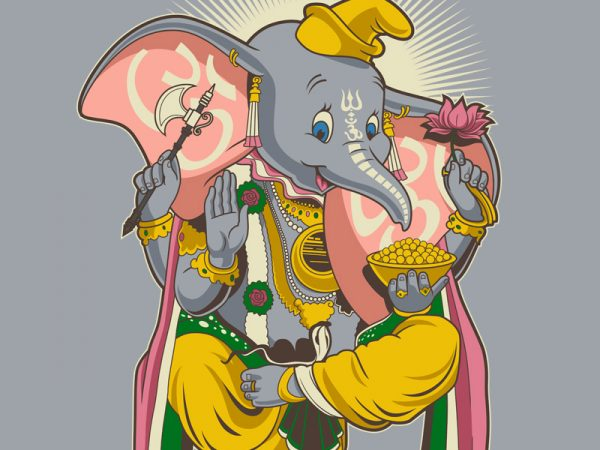 Little Ganesh buy t shirt design