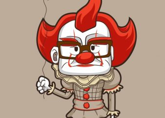NICE CLOWN T shirt vector artwork