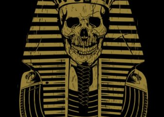 PHARAOH t shirt illustration