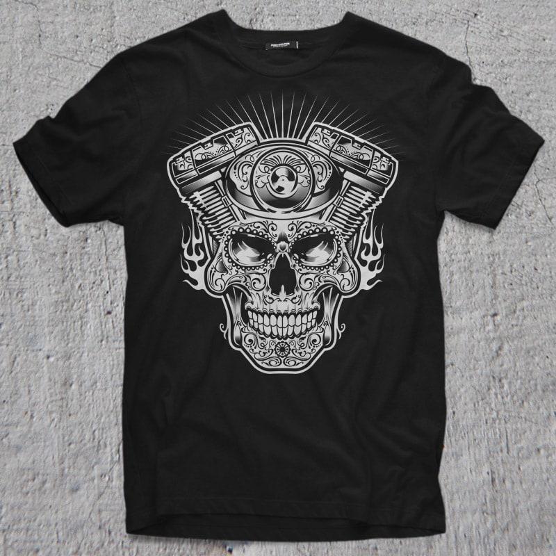 MACHINE HEAD buy t shirt design