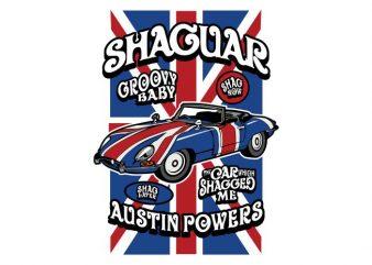 Shaguar buy t shirt design