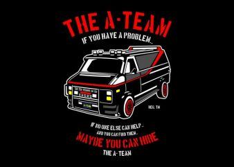 The A Team t shirt designs for sale