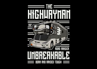 The Highwayman t shirt designs for sale