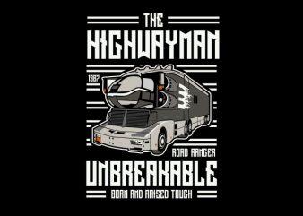 The Highwayman buy t shirt design
