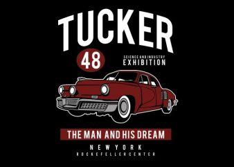 Tucker 48 t shirt designs for sale