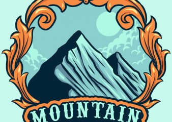 mountain buy t shirt design