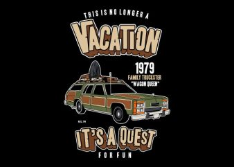 Vacation buy t shirt design
