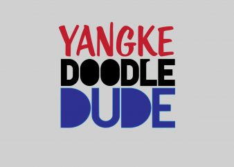 Yangke Doodle Dude t shirt design template