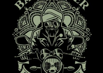 BABA BIKER buy t shirt design