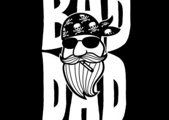 BAD DAD buy t shirt design
