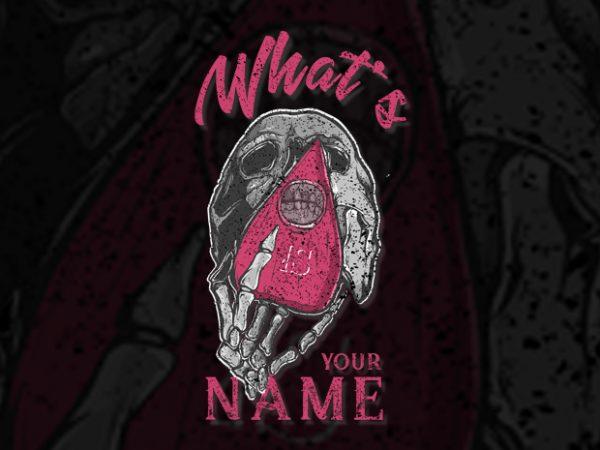 Game Of Skull vector t-shirt design